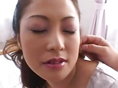 Pretty Busty Japanese MILF's Hot Hairy Cunt Fucked