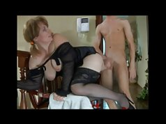 Milf in Lingerie with Not Her Son BVR